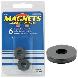 magnet source 7005 75 od x 3 id x 118 thick ceramic ring