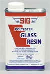 SIG GR004... GLASS RESIN 32oz. W/O HARDNER