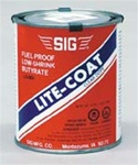 SIG LC005... CLEAR LITE-COAT      32oz. CAN