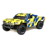 ELECTRIX ... TORMENT SCT 1/10 2WD  YELLOW/BLUE