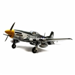 "HANGAR 9 ... P-51D MUSTANG 20cc GAS / ELECTRIC 69.5"" W.S."
