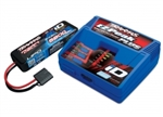 TRAXXAS ... CHARGER COMBO PACK (#2970 ID CHARGER 2843X 5800mah LiPo)