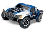 TRAXXAS SN... SLASH 4X4 BRUSHLESS W/ TSM VISION BLUE/WHITE